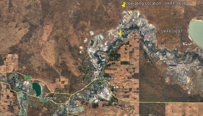 Chowilla Activation Map