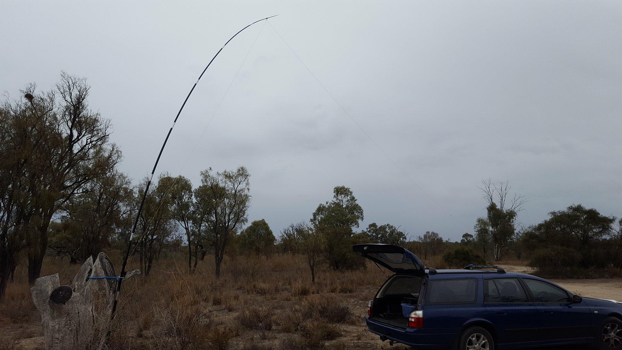 Car and Antenna