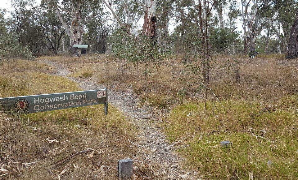Hogwash Bend Pk Sign