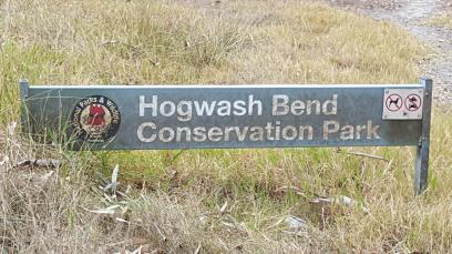 hogwash bend sign