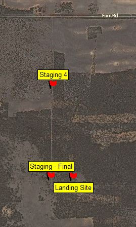 Map Landing Sat